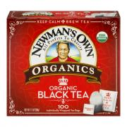 Newman's Own Organics Black Tea Bags