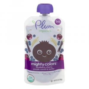 Plum Organics Tots Mighty Colors Blueberry, Plum