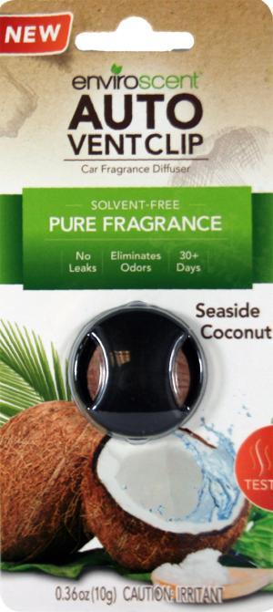 Enviroscent Auto Vent Seaside Coconut