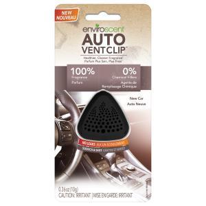 Enviroscent Auto Vent Clip New Car Scent
