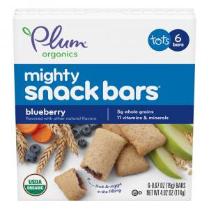 Plum Organic Mighty Blueberry Snack Bars