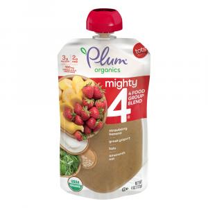 Plum Organics Mighty 4-Kale Strawberry Amaranth Greek Yogurt