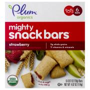 Plum Organics Mighty Strawberry w/Spinach Nutrition Bars