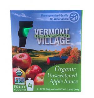 Vermont Village Organic Unsweetened Apple Sauce