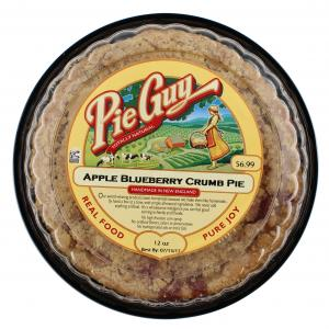 """Pie Guy 6"""" Apple Blueberry Crumb Pie"""