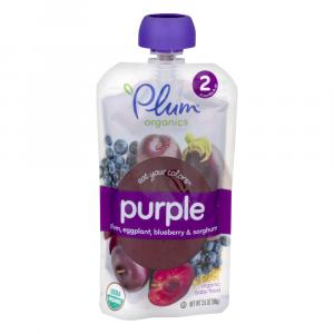Plum Organics 2 Eat Your Colors Purple - Plum, Eggplant