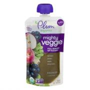 Plum Organics Mighty Veggie Spinach Grape Apple Amaranth