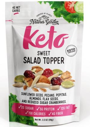 Nature's Garden Keto Sweet Salad Topper