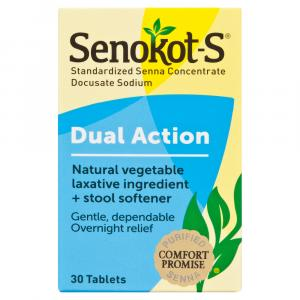 Senokot-S Laxative Tablets