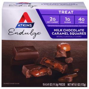 Atkins Endulge Chocolate Caramel Squares