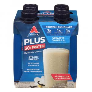 Atkins Meal Ready to Drink Vanilla Plus Shakes