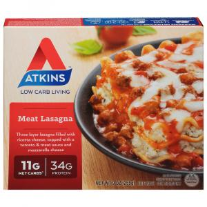 Atkins Meat Lasagna Dinner