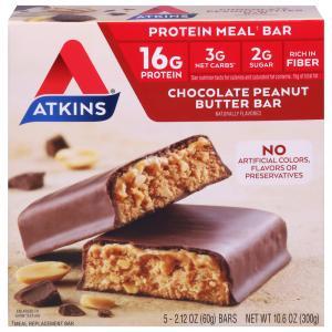 Atkins Advantage Chocolate Peanut Butter Bars