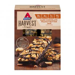 Atkins Harvest Dark Chocolate Peanut Butter