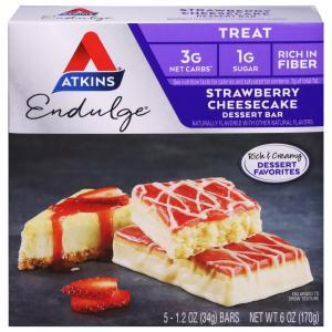 Atkins Endulge Strawberry Cheesecake Dessert Bars