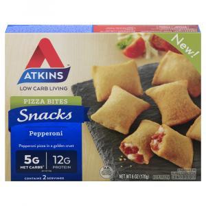 Atkins Snacks Pepperoni Pizza Bites