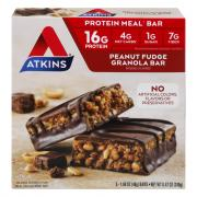 Atkins Peanut Fudge Granola Meal Bar