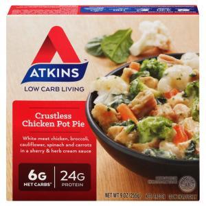Atkins Crustless Chicken Pot Pie