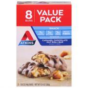 Atkins Chocolate Caramel Nut Roll Snack Bar