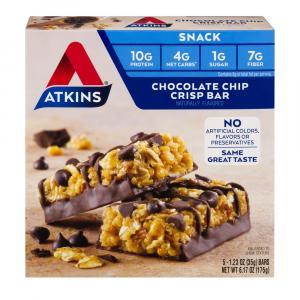 Atkins Day Break Chocolate Chip Bars