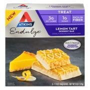 Atkins Endulge Lemon Tart Dessert Bars