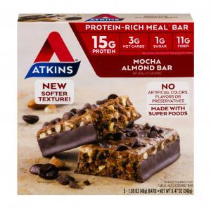 Atkins Mocha Almond Bars