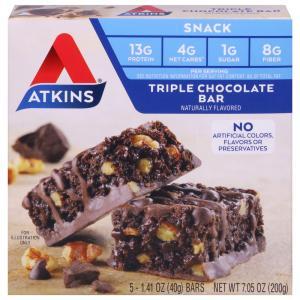 Atkins Triple Chocolate Bar