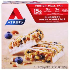 Atkins Blueberry Greek Yogurt Bars