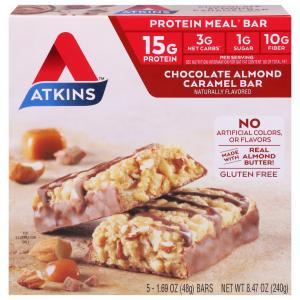 Atkins Chocolate Almond Caramel Meal Bar