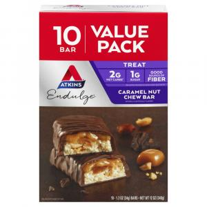 Atkins Endulge Caramel Nut Chew Bars