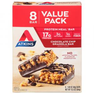 Atkins Chocolate Chip Granola Bars