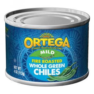 Ortega Fire Roasted Whole Green Chiles