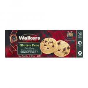 Walkers Gluten Free Chocolate Chip Shortbread Cookies