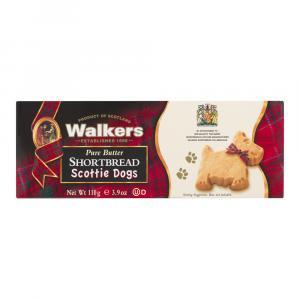 Walkers Shortbread Pure Butter Scottie Dogs