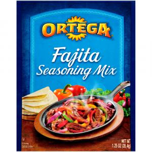 Ortega Reduced Soduim Fajita Seasoning Mix