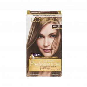 L'oreal Superior Preference Light Beige Brown Hair Color