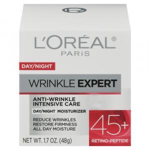 L'Oreal Day/Night Wrinkle Expert 45+ Moisturizer