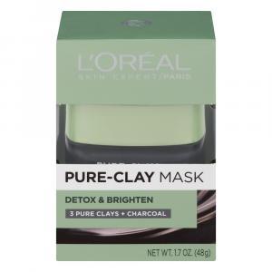 L'Oreal Detox & Brighten Pure Clay Mask