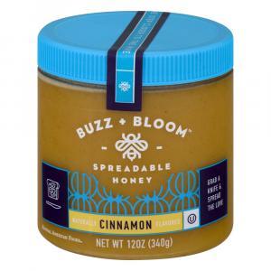 Buzz + Bloom Cinnamon Spreadable Honey