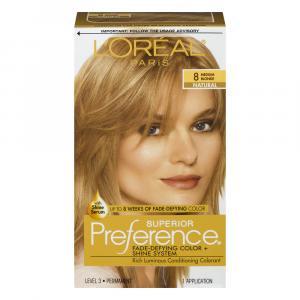 L'Oreal Preference #8 Medium Blonde Hair Color