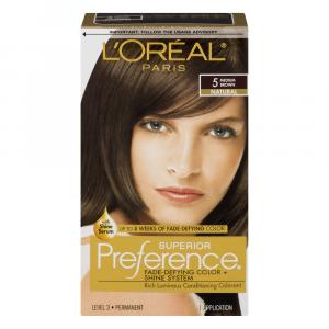 L'Oreal Preference #5 Medium Brown Hair Color