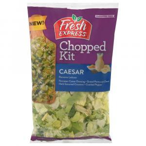 Fresh Express Chopped Kit Ceasar Salad