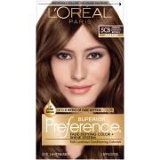 L'Oreal Preference #5CB Medium Chestnut Brown Hair Color