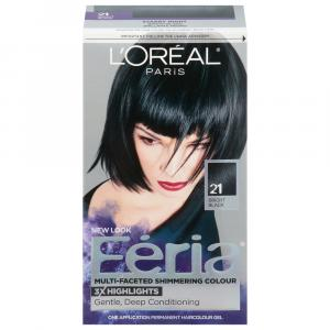 L'Oreal Feria #21 Starry Night Hair Color