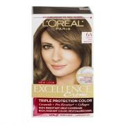 L'Oreal Excellence Creme #6A Light Ash Brown Hair Color