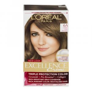 L'Oreal Excellence Creme #6A Light Ash Brown Hair Color