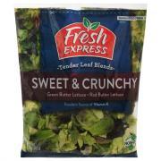 Fresh Express Sweet and Crunchy Tender Leaf Blends