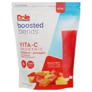 Dole Boosted Blends Vita-C Strawberry Pineapple Smoothie