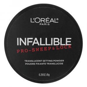 L'oreal Paris Infallible Pro-Sweep & Lock Translucent Powder