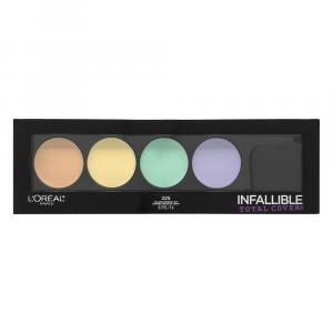 L'oreal Color Correcting Kit Infallible Total Cover 225